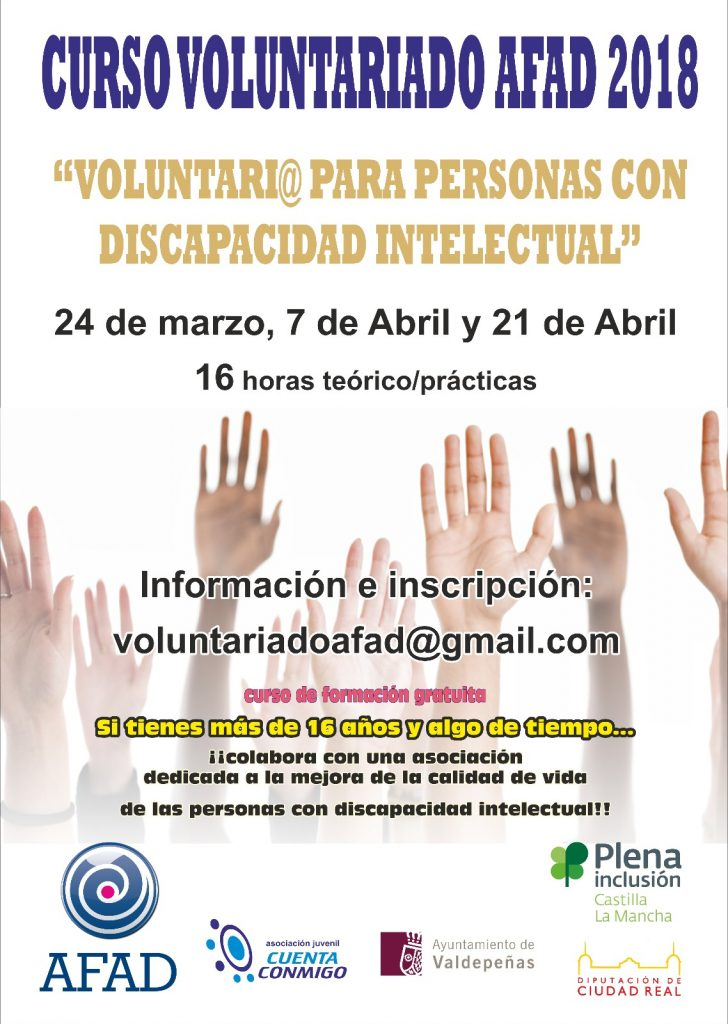 curso voluntariado 2018